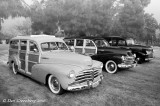 1948 and 47 Chevy Wagons with 1941 Chevy Suburban