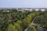 View over Ziemelblazmas parks