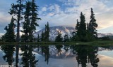 Mt Rainier from Hidden Pond