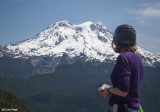 Mt Rainier from Glacier View