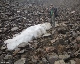Pinnacle Glacier - almost gone