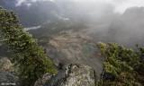 Pinnacle Glacier Tarn from Pinnacle Peak