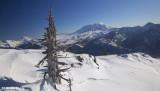 Mt Adams, Mt St Helens and Mt Hood