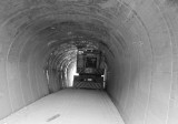 Okinawa 1971 Zatsun tunnel with stuck truck
