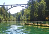 Kayaking the Cowlitz Arm of Mayfield Lake