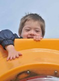 Michael at Playground, '13