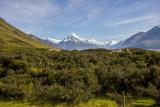 20 Dec 2013 - a last look at Aoraki Mt Cook as we leave