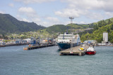 Approaching Picton Harbour with better weather