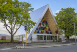 Temporary Christchurch Cathedral - the cardboard cathedral