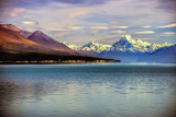 Aoraki Mt Cook from Lake Pukaki - Park in the carpark beside Lake Pukaki and this is what you see