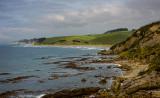 Otago coastline, looking south from Shag Point