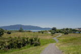 looking down to Waikanae Beach from Queens Rd