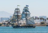 Tall Ship Parade San Diego 2014