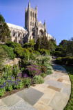 National Cathedral from the garden (DC)