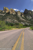 The first view of the Chiricahua Mountains