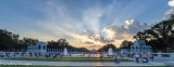 Sunset over the WWII Memorial