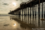 An alternative view of the Oceanside CA Pier
