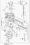 Suzuki DRZ400S BSR Carburetor