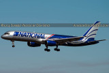 2014 - National Airlines B757-28A N176CA aviation airline aircraft stock photo #3262
