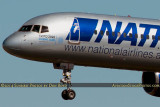 2014 - National Airlines B757-28A N176CA airline aviation aircraft stock photo #3262C