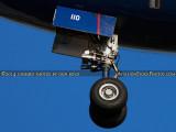 2014 - closeup of British Airways B777-236/ER G-VIIO on short final approach aviation airline aircraft stock photo #4025C