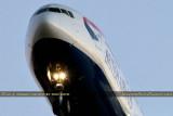2014 - closeup - British Airways Boeing 777-236/ER G-VIIR on short final to runway 1L at TPA airline aviation stock photo #3996C