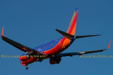 2014 - Southwest Airlines B737-7H4 N295WN aviation airline aircraft stock photo #3925