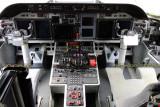The cockpit of Coast Guard HC-144A #CG-2305