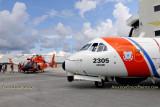 Coast Guard MH-65C #CG-6604 and HC-144A #CG-2305 at the Coast Guard Day PIcnic