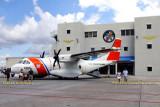 Coast Guard HC-144A #CG-2305 on display at Coast Guard Air Station Miami