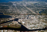2014 - aerial photo of Davis Island, Harbour Island and downtown Tampa landscape aerial stock photo #6126