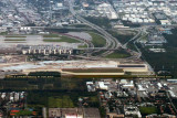 2014 - close up aerial photo of the elevated portion of FLL's new runway 10R-28L aviation stock photo #5228C