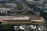 2014 - closer up aerial photo of the elevated portion of FLL's new runway 10R-28L aviation stock photo #5228CC