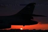 2012 - U. S. Air Force B-1B Lancer bomber #85-0087 at sunset military aviation stock photo #2620