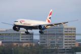 2015 - British Airways Boeing 777-236/ER G-VIIT airline aviation stock photo #9398