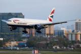 2015 - British Airways Boeing 777-236/ER G-VIIT airline aviation stock photo #9399