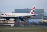 2015 - British Airways Boeing 777-236/ER G-VIIT airline aviation stock photo #9400