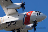 2016 - closeup of Coast Guard Alenia C-27J Spartan #CG-2714 enroute to CG Air Station Miami at OPF aviation stock photo