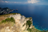 The south coast of Anacapri, from the hill, with Capri in the background.