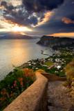 La scala Fenicia, Capri side.