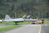 Maintaining F-5F, 2