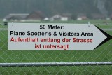 Sign for the spotters