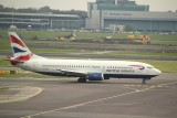 One of the oldest type in BA's fleet is the B-737-400.
