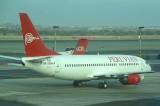 Peruvian B-737-400 at LIM