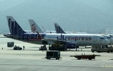 HK Express A-320s in their new livery