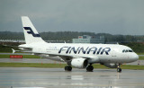 Finnair A-319 in HEL