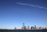 Thunderbird over the Hudson River, Sep 2, 2016
