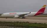 Iberia A-330 arriving at PVG, Oct 2016