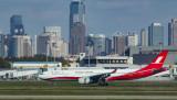 Shanghai Airlines A-330 at SHA