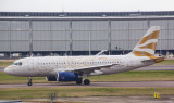 BA A-319 in speical livery celebrating the London Olympics